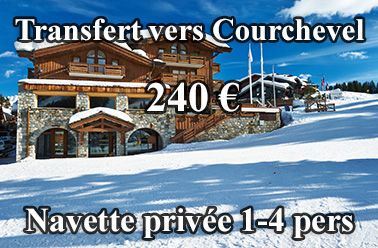 Courchevel Navette Transfert