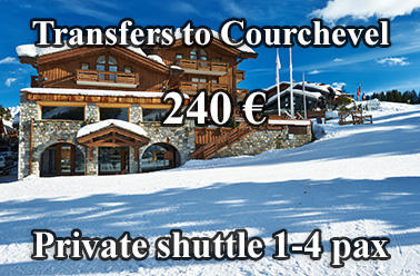Courchevel shuttle transfers