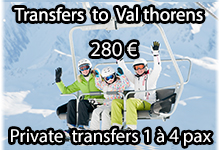 Val thorens shuttle transfers