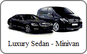 Luxury sedan on