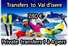 Val isere shuttle transfers