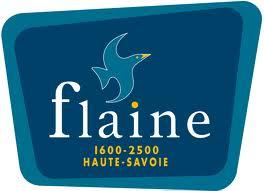 Logo Flaine transfert navette taxi