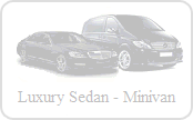 Luxury sedan off