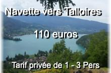 Navette vers Talloires fr